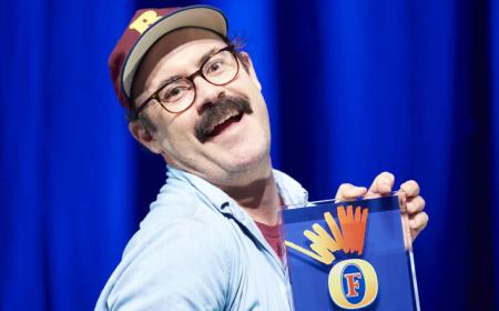 Let's Talk: Sam Simmons, winner of the 2015 Foster's Edinburgh Comedy Award