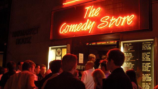 THE COMEDY STORE,